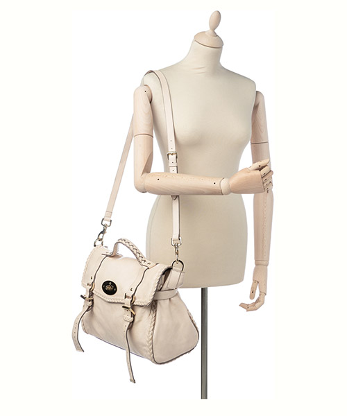 Women's leather handbag shopping bag purse alexa secondary image
