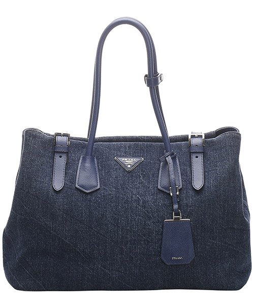 Shoulder bag Prada Pre-Owned 0EPRTO006 blu