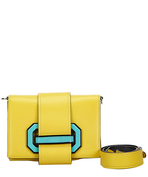 Shoulder bag Prada Pre-Owned 9CPRCX021 giallo