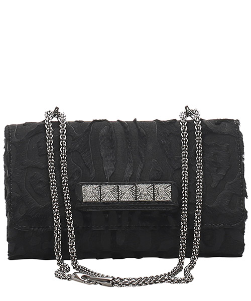 Clutch Valentino Pre-Owned 0cvlst001 nero