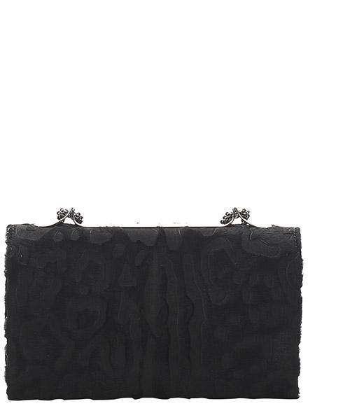 Women's clutch with shoulder strap handbag bag purse  va va voom secondary image