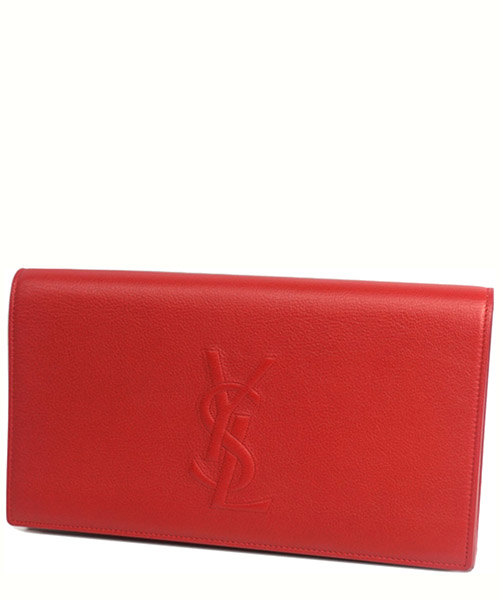 Clutch YSL Pre-Owned 0dyscl002 rosso