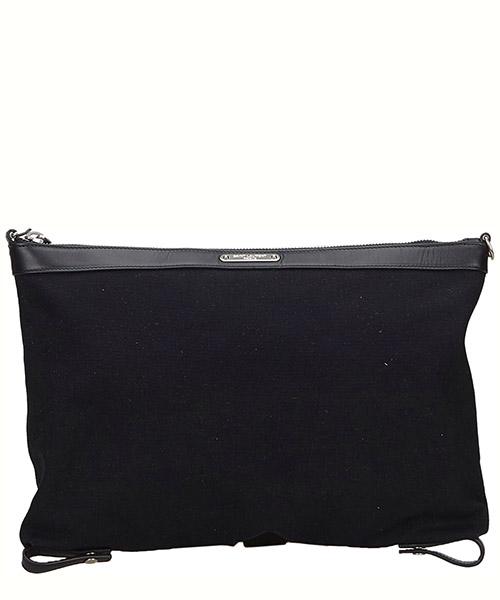 Clutch bag YSL Pre-Owned 9FYSCL002 nero