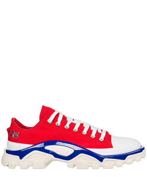 Zapatillas  Adidas by Raf Simons Rs Detroit Runner EE79363 rosso