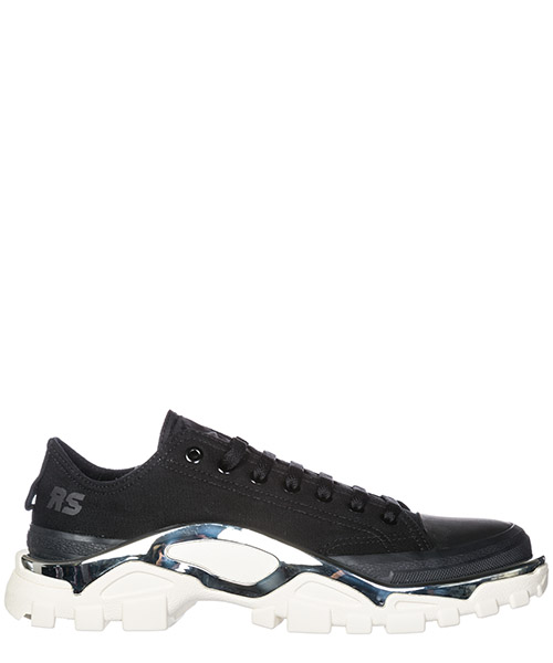 Basket Adidas by Raf Simons Detroit F34245 black - white