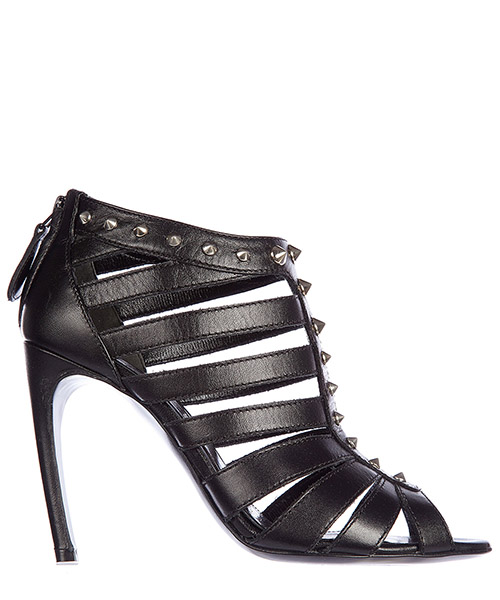 Sandal Alexander McQueen 345181 WHAD0 1000 nero