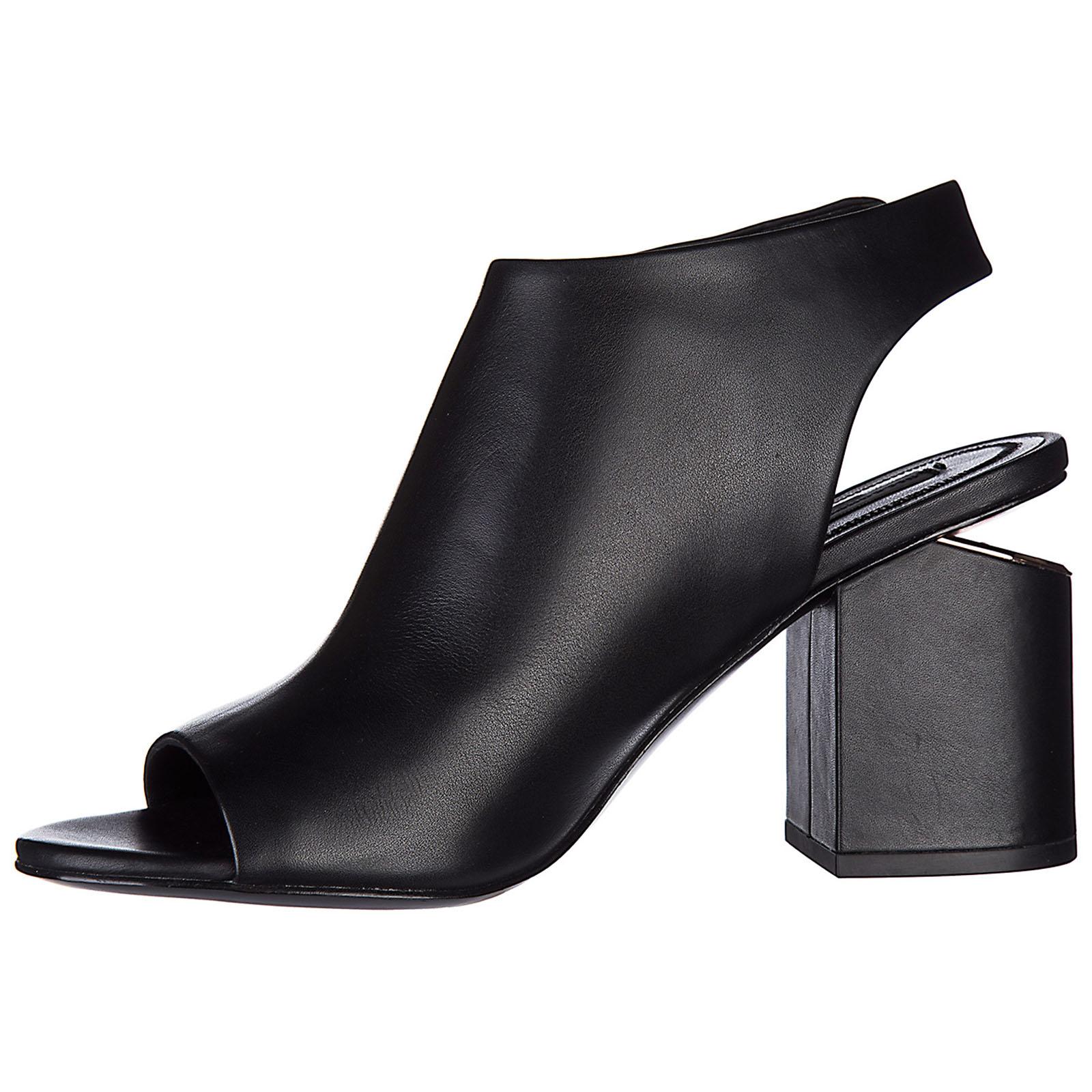 сандалии женские на каблуке кожаные nadia