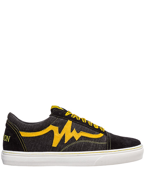 Sneakers AP08 Bee AP0801.BEE.M nero / giallo