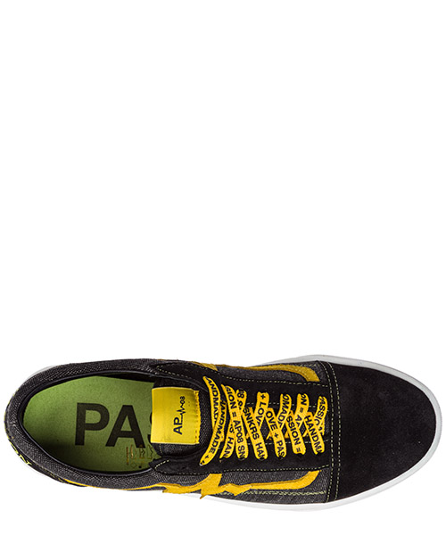Chaussures baskets sneakers homme en daim bee secondary image