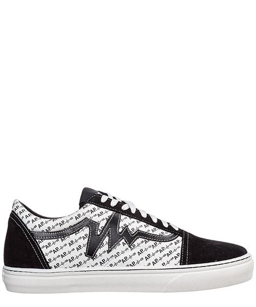 Sneakers AP08 Monogram AP0801.MONOGRAM.M bianco / nero