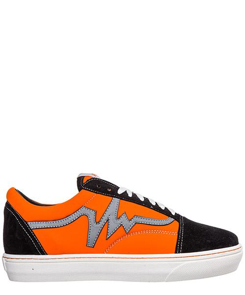 Sneakers AP08 Reflex AP0801.REFLEX.M nero / arancio