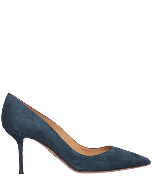 Pumps Aquazzura purist purmidp0-sue-dub dusk blue