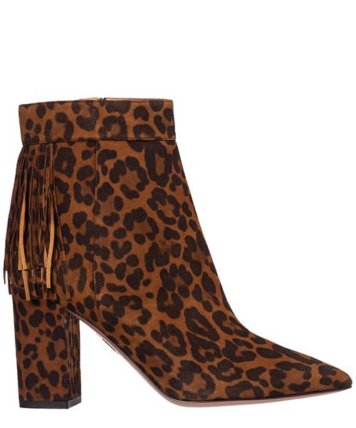 Сапоги на каблуках Aquazzura regmidb0-jas-993 marrone