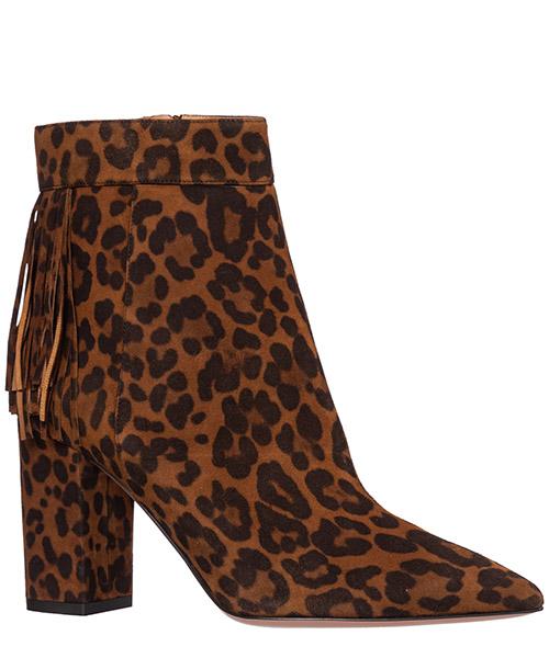 полусапожки женские на каблуке замшевые regent secondary image