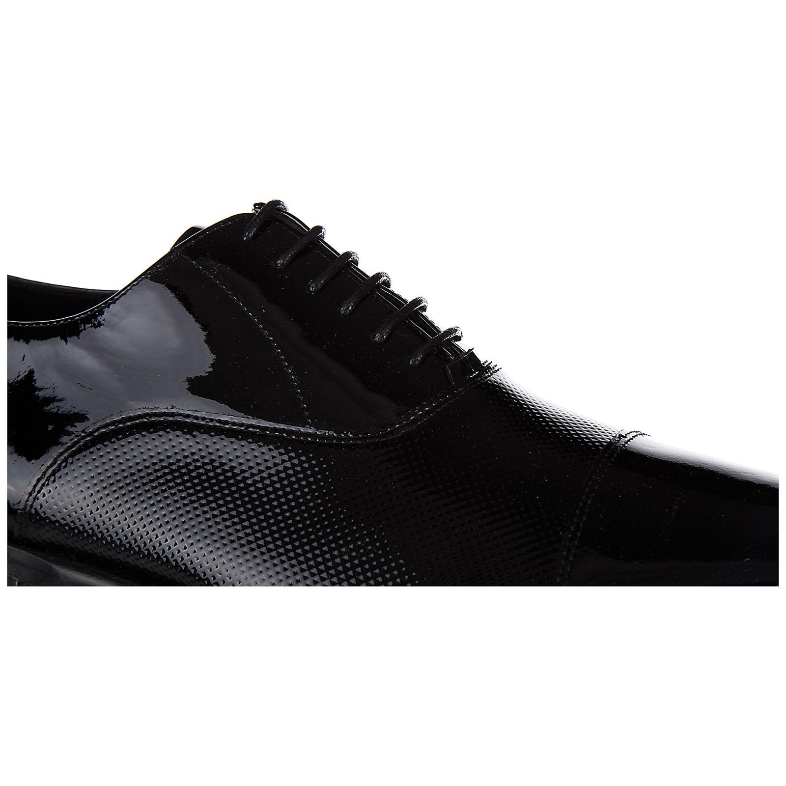 Clásico zapatos de cordones hombres en piel oxford
