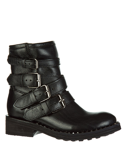 Women's leather ankle boots booties secondary image