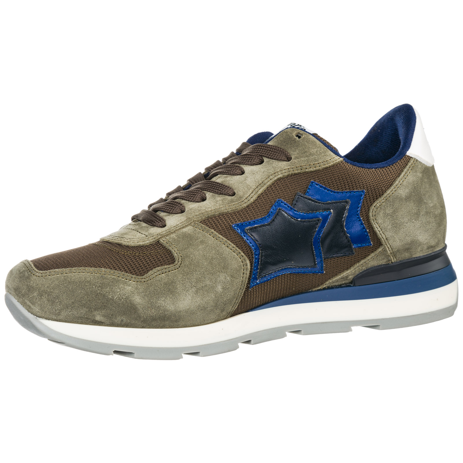Men's shoes suede trainers sneakers antares