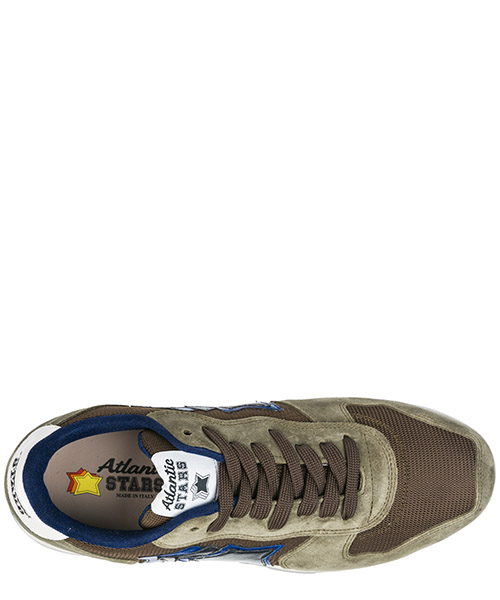Men's shoes suede trainers sneakers antares secondary image