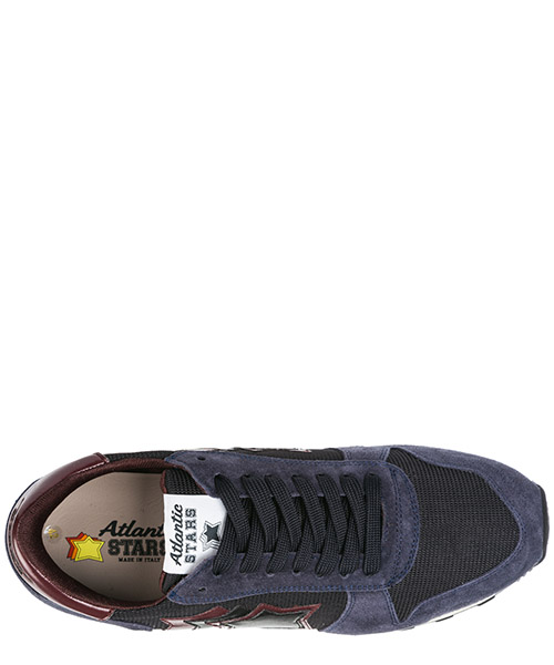 Men's shoes suede trainers sneakers argo secondary image
