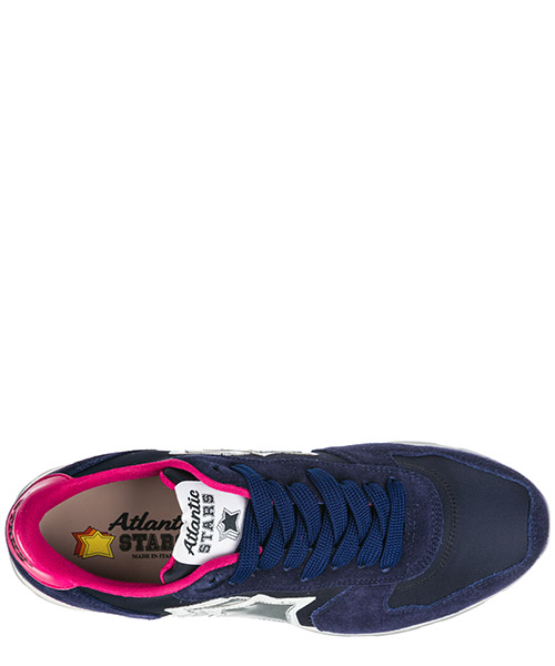 Women's shoes suede trainers sneakers vega secondary image