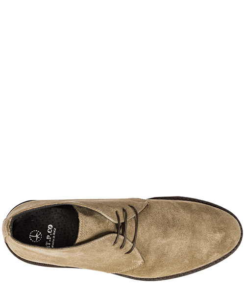 Men's suede desert boots lace up ankle boots secondary image