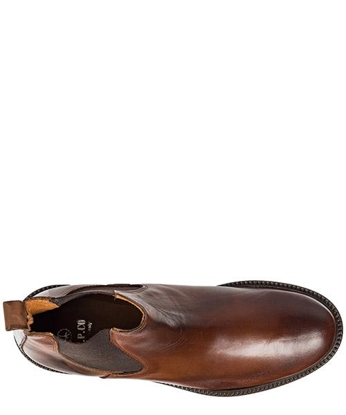 Bottines demi-bottes homme en cuir secondary image