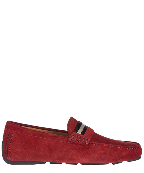 Moccasins Bally Wabler 6187084 rosso