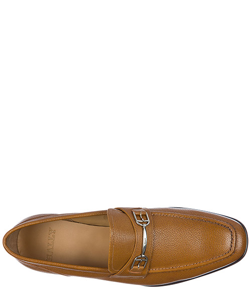 Herren leder mokassins slipper  brian secondary image
