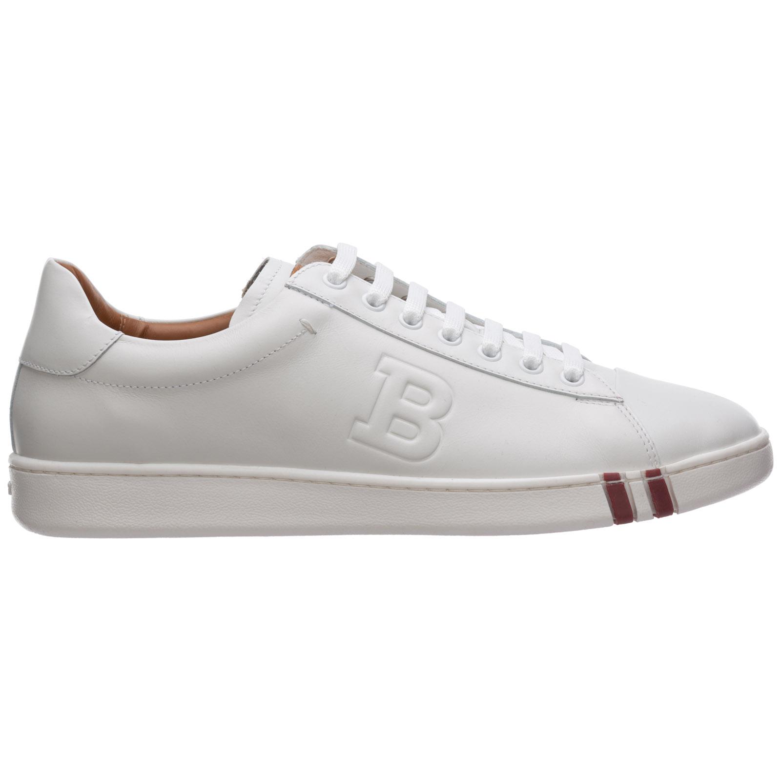 Sneakers Bally asher 6205250 bianco