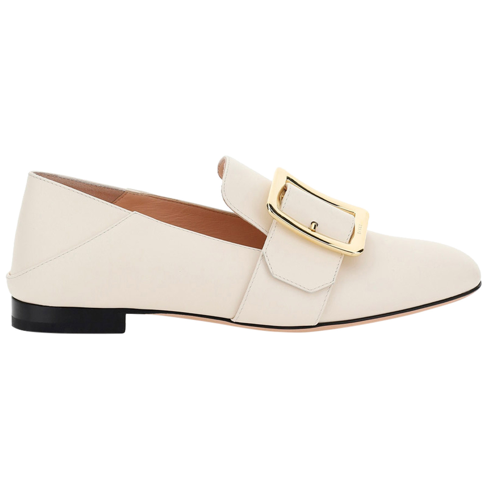 Bally WOMEN'S LEATHER LOAFERS MOCCASINS  JANELLE