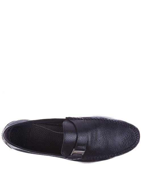 Herren leder mokassins slipper  cabel deer grained secondary image