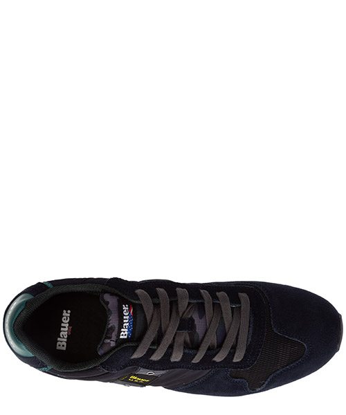 Men's shoes suede trainers sneakers queens secondary image
