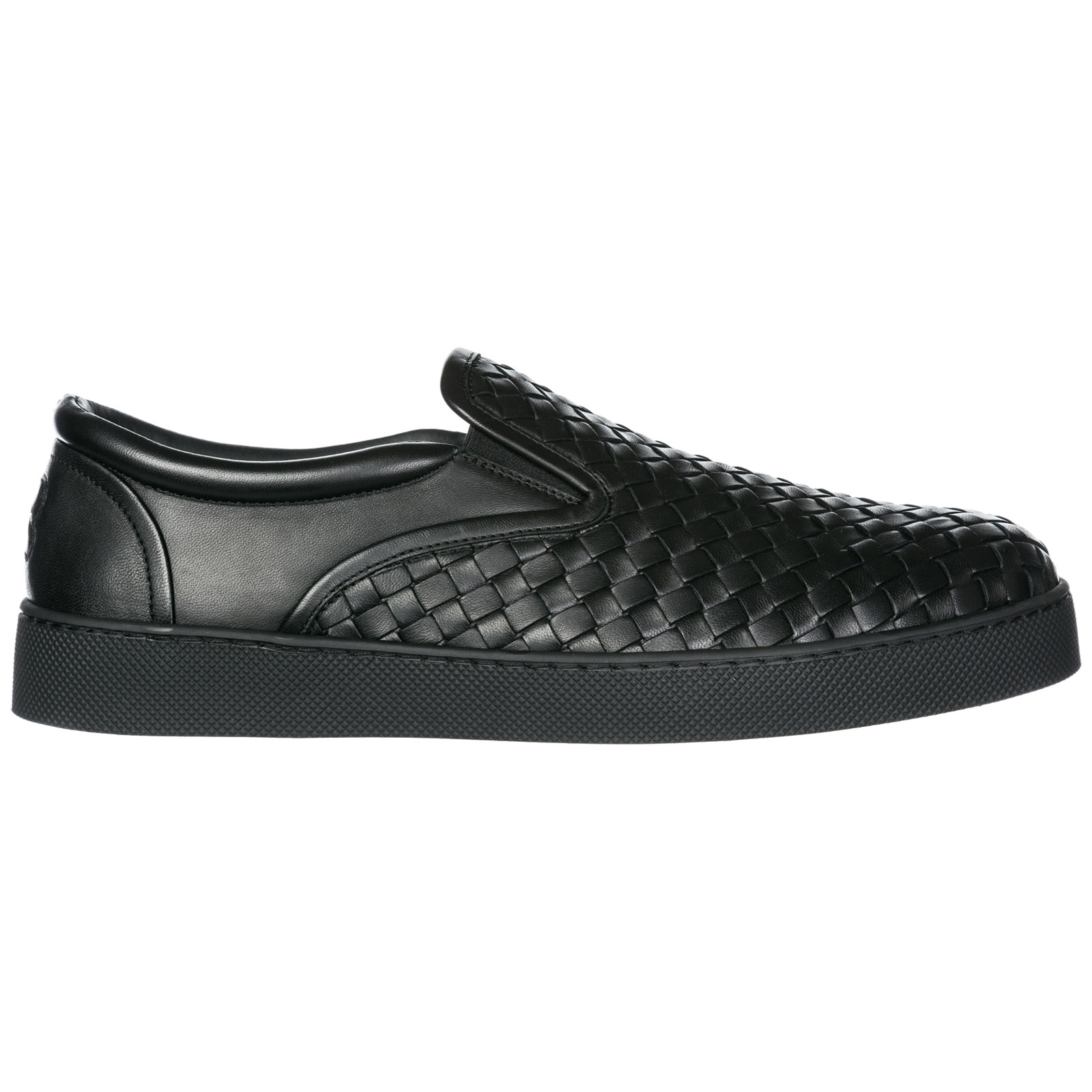 Slip on uomo in pelle sneakers dodger