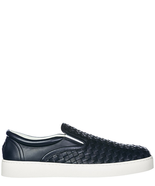 Scarpe slip on Bottega Veneta Dodger 190809V00134030 dark navy
