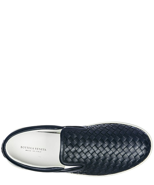 Herren leder slip on slipper sneakers  dodger secondary image