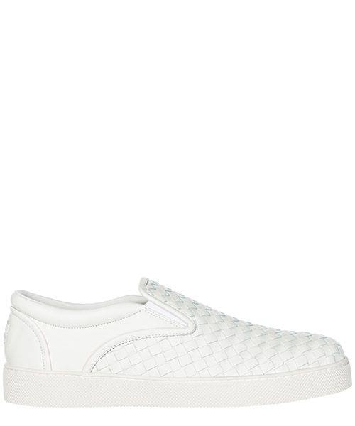 Slip on shoes Bottega Veneta Dodger 190809V00139000 bianco