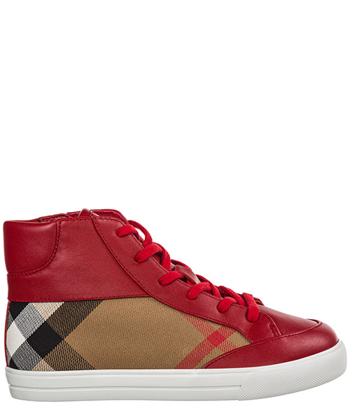 Sneaker high Burberry 39932811 rosso