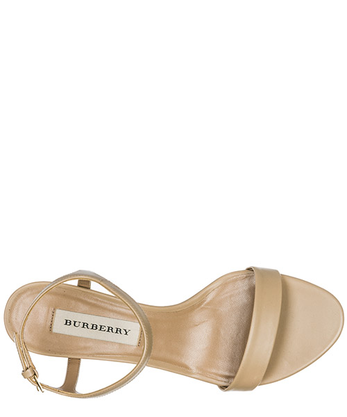 Women's leather heel sandals alicia secondary image