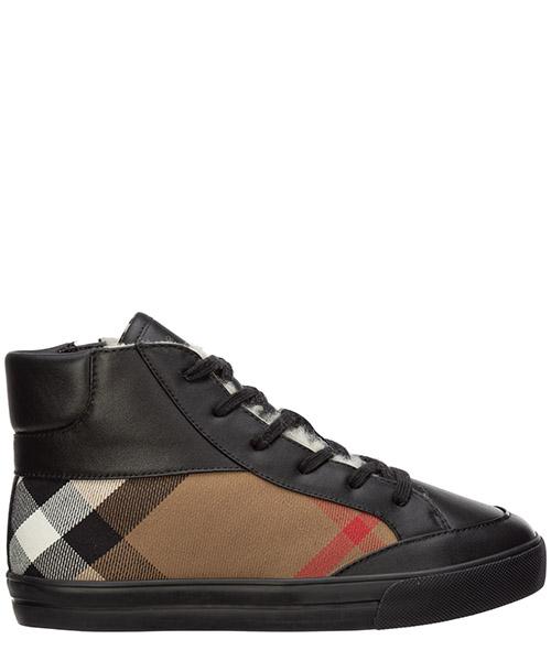 High-top sneakers Burberry 40227441 nero