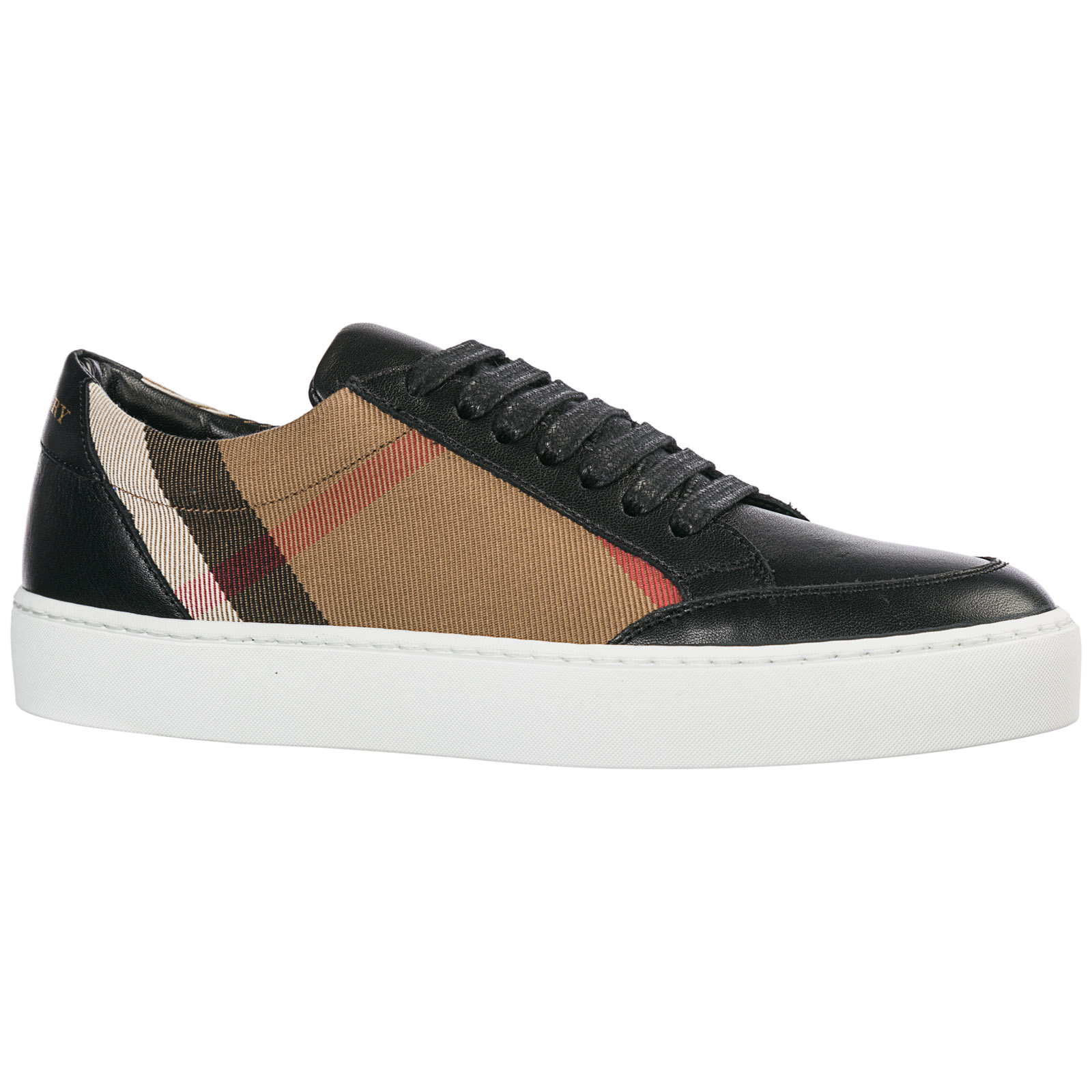 Nero Burberry Sneakers Burberry 40400561 Salmond Sneakers xH6qw4n6X