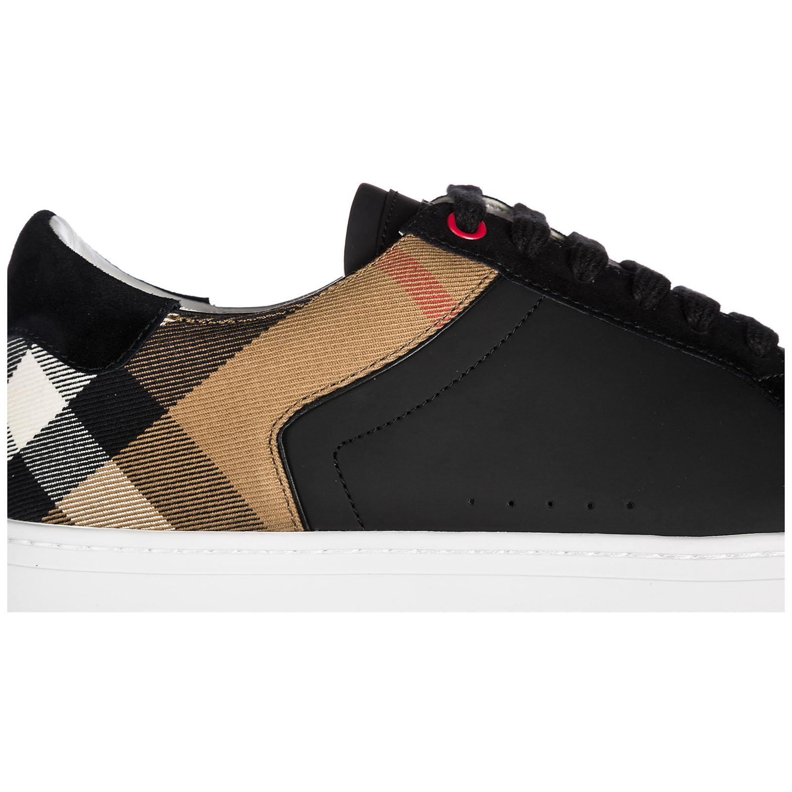 ee0024d55 Zapatillas deportivas Burberry Reeth Low 40540211 black | FRMODA.com
