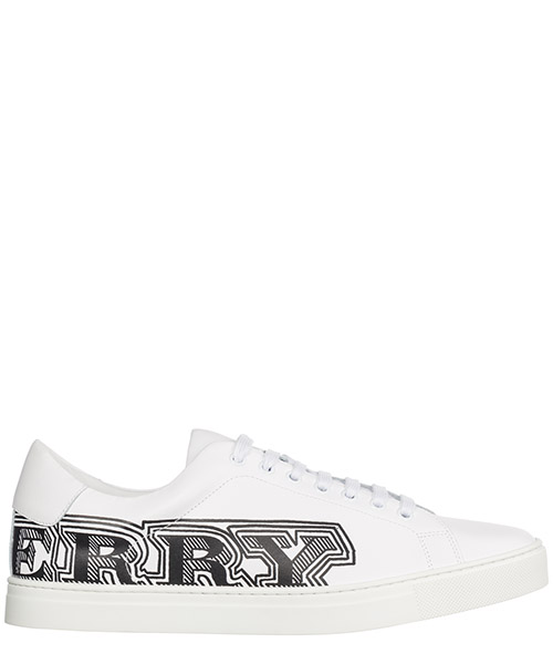 Basket Burberry Albert 40662671 bianco