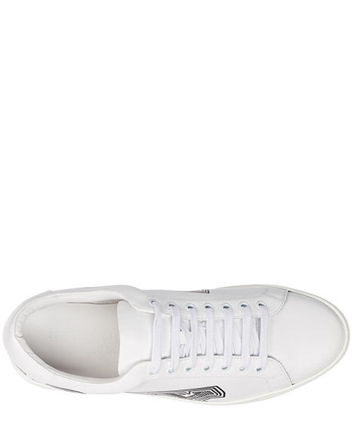Chaussures baskets sneakers homme en cuir albert secondary image