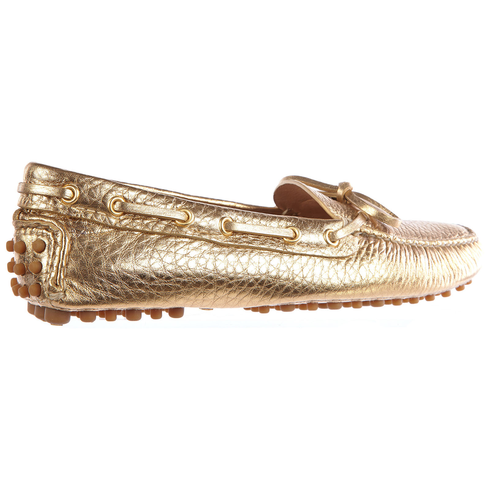 Women's leather loafers moccasins  drive