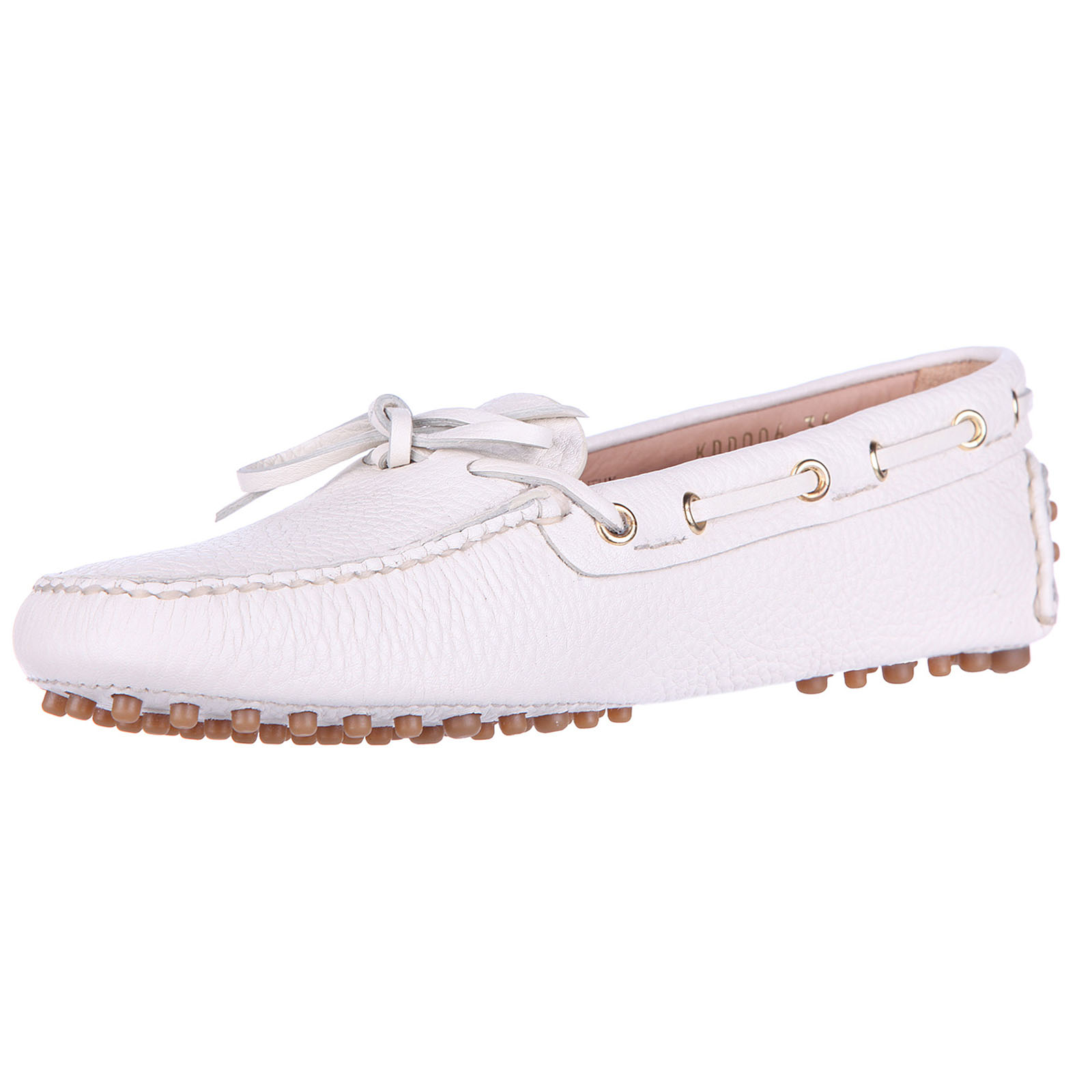 Women's leather loafers moccasins