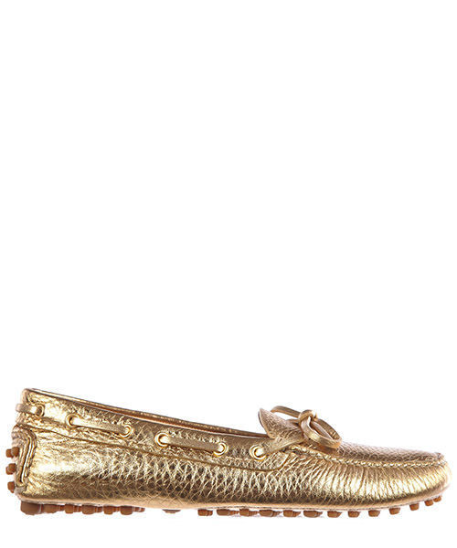 Mocassini Car Shoe KDD006 3D7Q F0522 oro