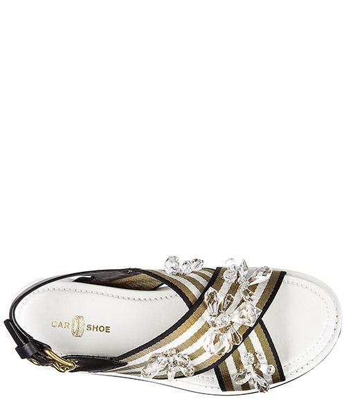 Women's leather sandals  nastro riga secondary image