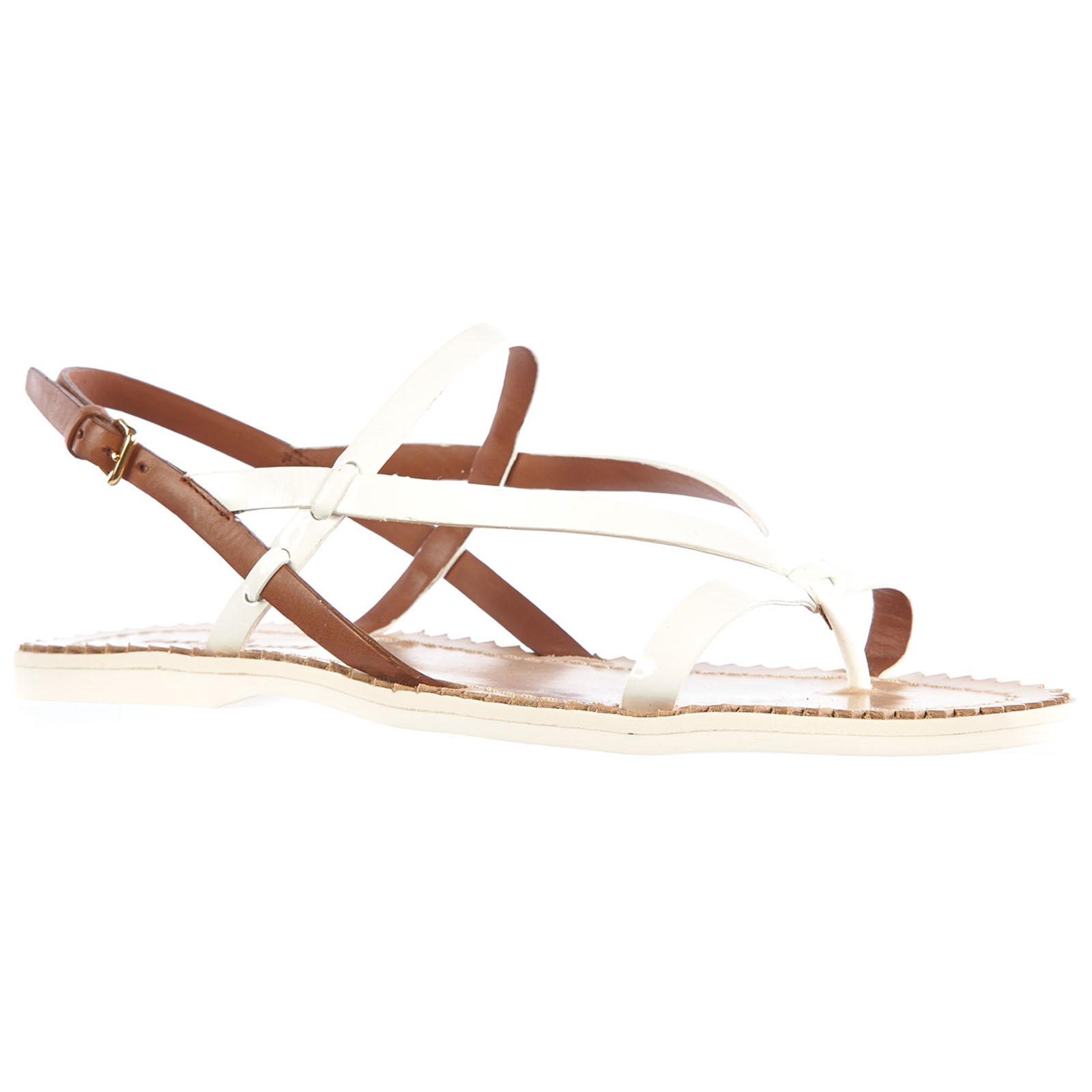 Sandales femme en cuirvernice Car Shoe yKvuy8m0fB