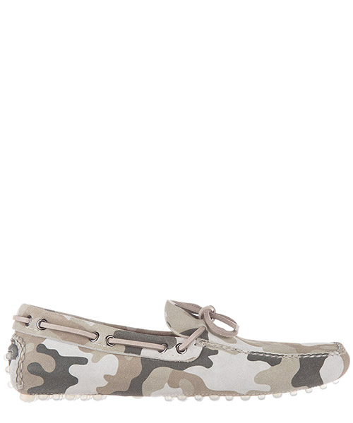 Mocassini Car Shoe KUD006 3G4H F0161 militare