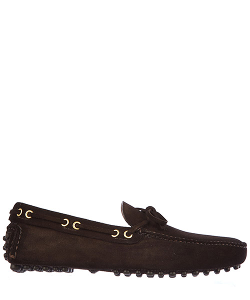 Moccasins Car Shoe KUD006 LVA F0192 marrone